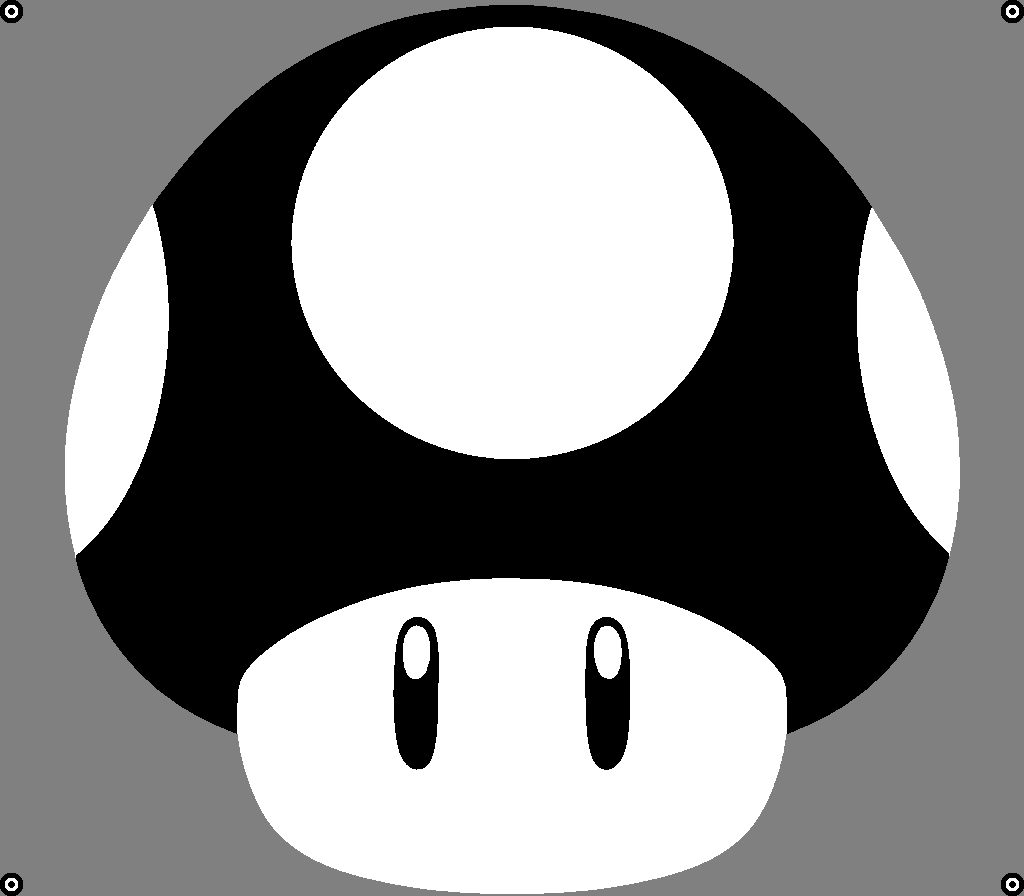 T-shirt Toad sjabloon