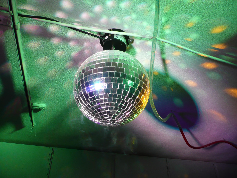Discobal Met Licht : Fotos van effecten apparatuur